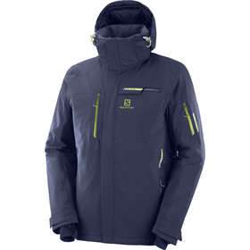 Salomon Brilliant Chaqueta Hombre, night sky